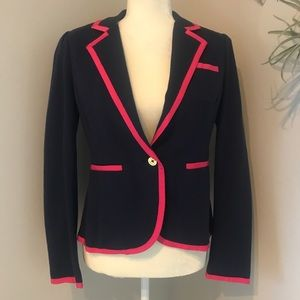 🆕 Lilly Pulitzer Malibu Blazer Jacket True Navy